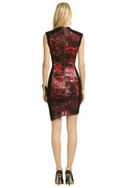 Heart Pumping Dress by Helmut Lang