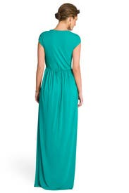 Enchanting Emerald Gathered Gown by Alice by Temperley