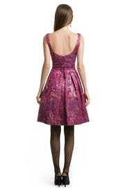 Mad For Fuschia Dress by Theia