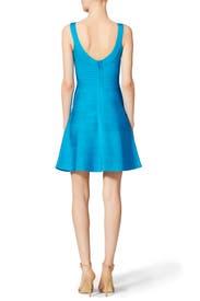 Turquoise Eva Dress by Hervé Léger