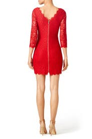 Red Zarita Sheath by Diane von Furstenberg for $45 - $65 | Rent ...