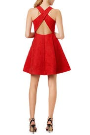 Red Mark Dress by ML Monique Lhuillier