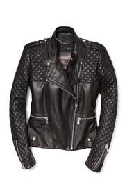 Jet Thriller Biker Jacket by Barbara Bui