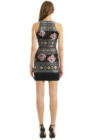 Floral Folk Weave Dress by Matthew Williamson
