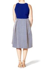 Mod Zoe Dress by Kay Unger