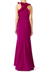 Magenta Kate Gown by nha khanh