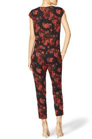Floral Draped Jumpsuit by Thakoon