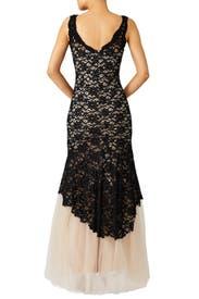 Noir Timeless Love Gown by nha khanh