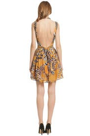 Jungle Cat Dress by Thakoon