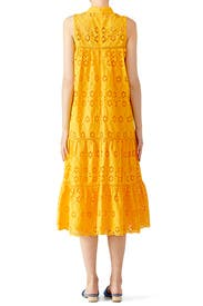 Yellow Eyelet Patio Dress by kate spade new york