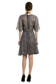 Electric Flutter Dress by Anna Sui