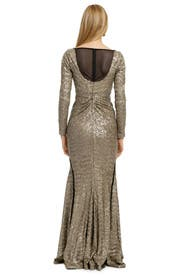 Sequin Sand Ripple Gown by Z Spoke Zac Posen