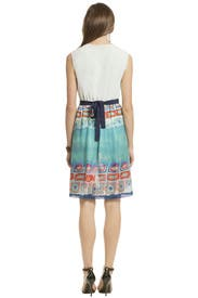 Marble Mosaic Dress by Alberta Ferretti