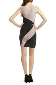 Classic Swirl Dress by Hervé Léger