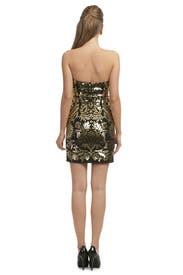 Gold Damask Mini by Moschino