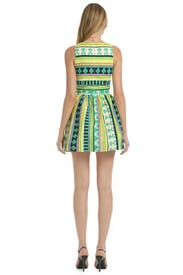 Ikat Wait to Dance Dress by MSGM