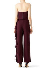 Plum Kendall Jumpsuit by Alexis