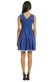 Colbalt Daisy Dress by Pink Tartan