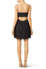 Black Hudette Dress by Joie