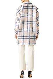 Pink Plaid Santo Coat by Rebecca Minkoff
