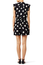 Daisy Dot Crepe Romper by kate spade new york