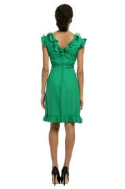 Dot Flutter Dress by Anna Sui