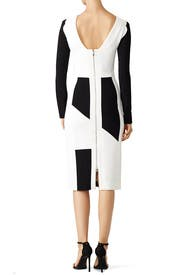 Geometric Block Off Sheath by Antonio Berardi