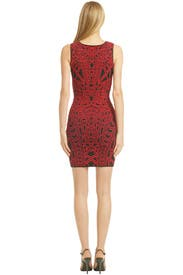 Rouge Puzzle Solver Dress by RVN