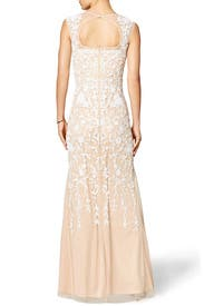 Champagne Gown by Badgley Mischka