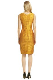 Sun Goddess Sheath by Vera Wang
