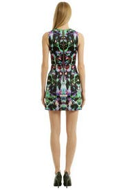 Electric Hologram Dress by Milly