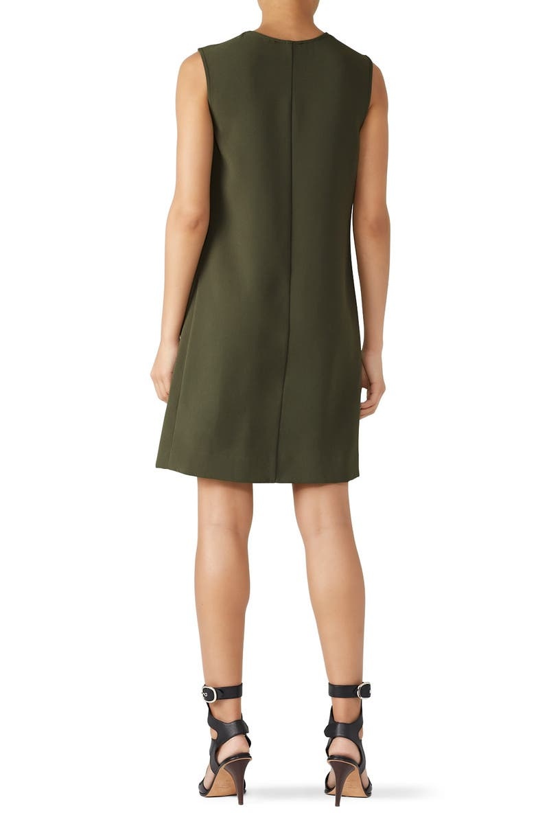 5a245a648a6 Olive Pleat Front Dress by Fifteen Twenty for  30