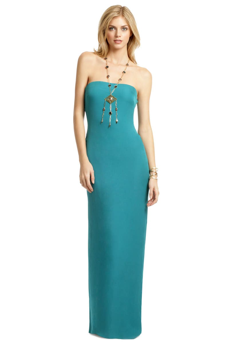 Mykonos Mermaid Gown by Halston Heritage for $89 | Rent the Runway