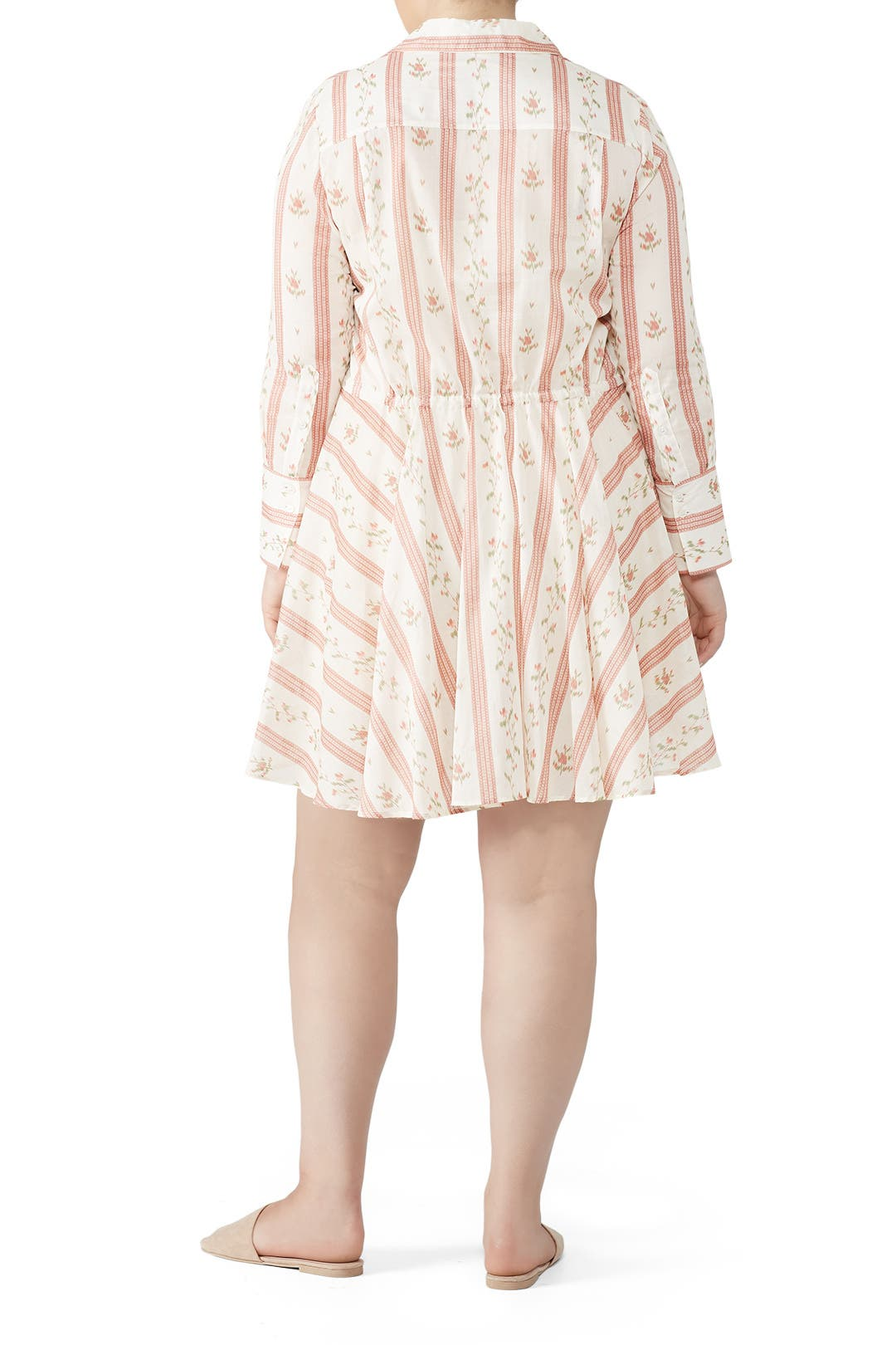 9116419346dfd Oruy Floral Shirtdress by Brock Collection for $205 | Rent the Runway
