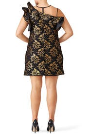 Black Viera Dress by nha khanh