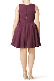 Purple Marilyn Dress by allison parris