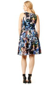 Spin in Scuba Dress by Carmen Marc Valvo