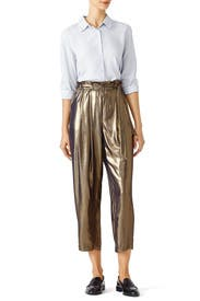 Gold Harem Pant by Free People