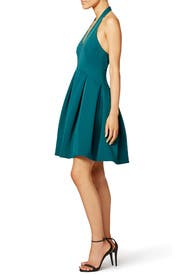 Teal Dance Dress by Halston Heritage