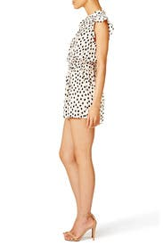 Leopard Dot Crepe Romper by kate spade new york