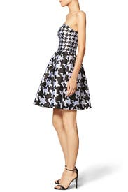 Houndstooth Dress by BOUTIQUE MOSCHINO