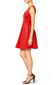 Red Petal Dress by Slate & Willow