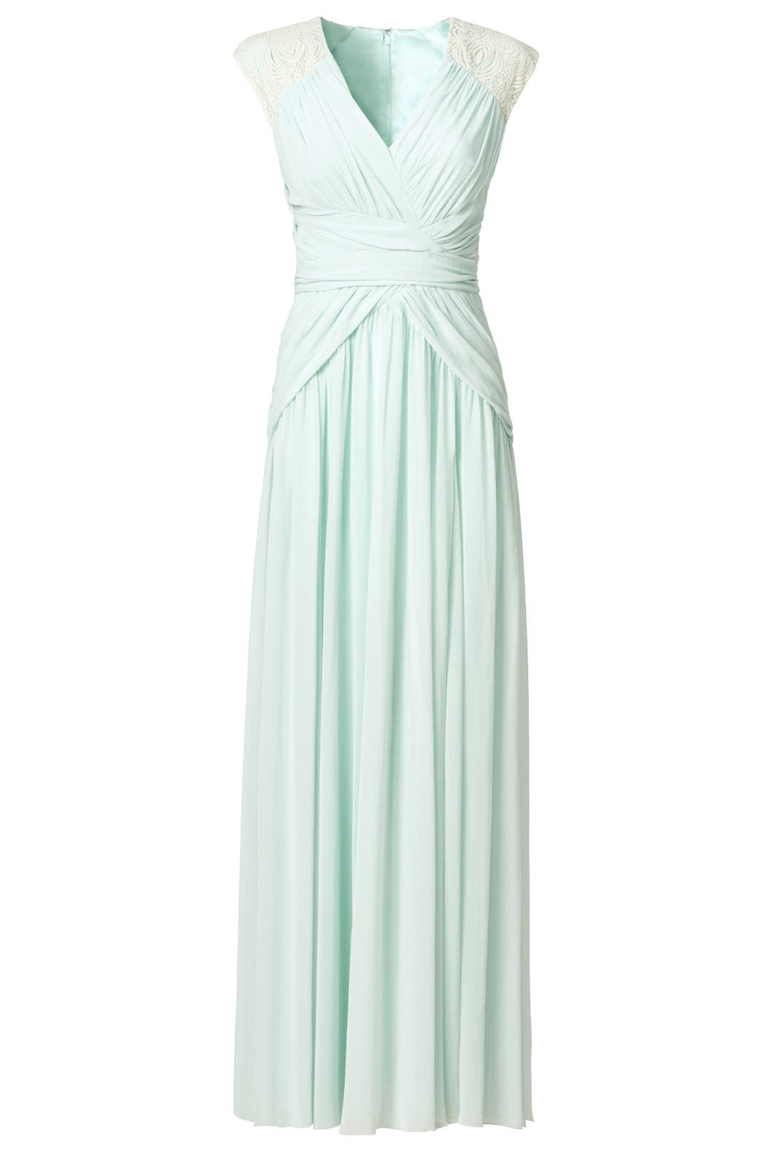 Mint Dream Gown by Badgley Mischka for $70 | Rent the Runway