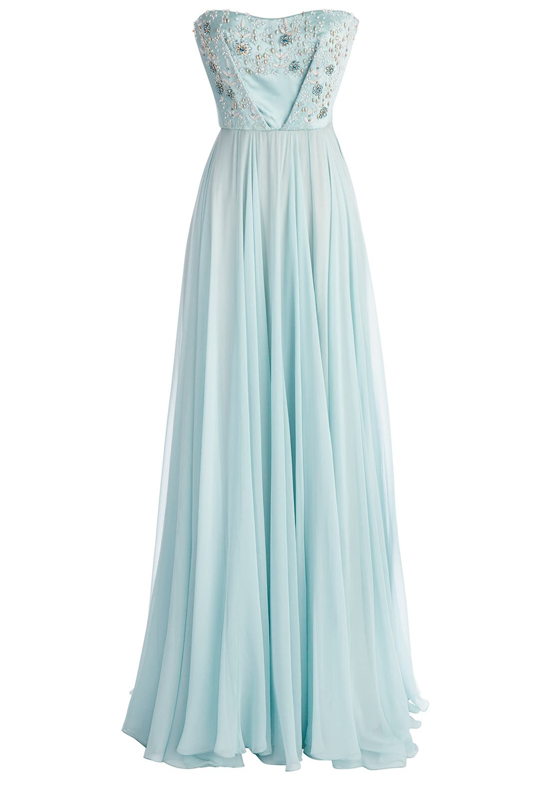 Nigella Blue Gown by Reem Acra