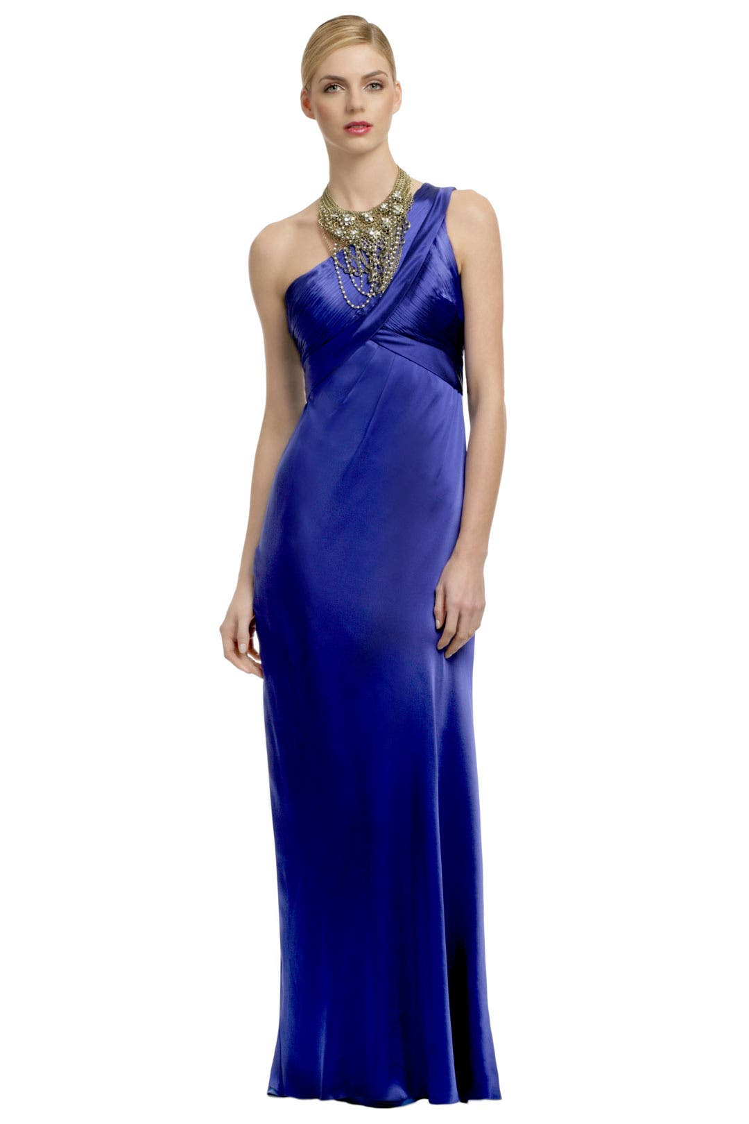 Crystal Blue Waters Gown by Carlos Miele