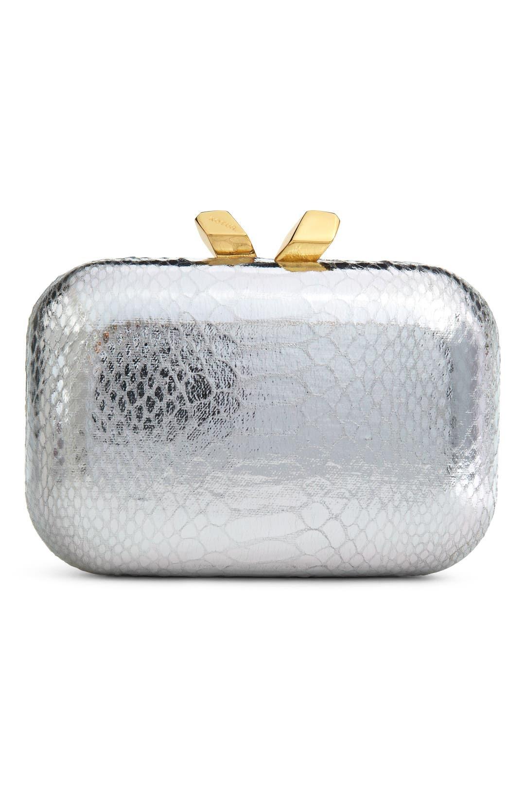 Silver  Margo Minaudiere by Kotur
