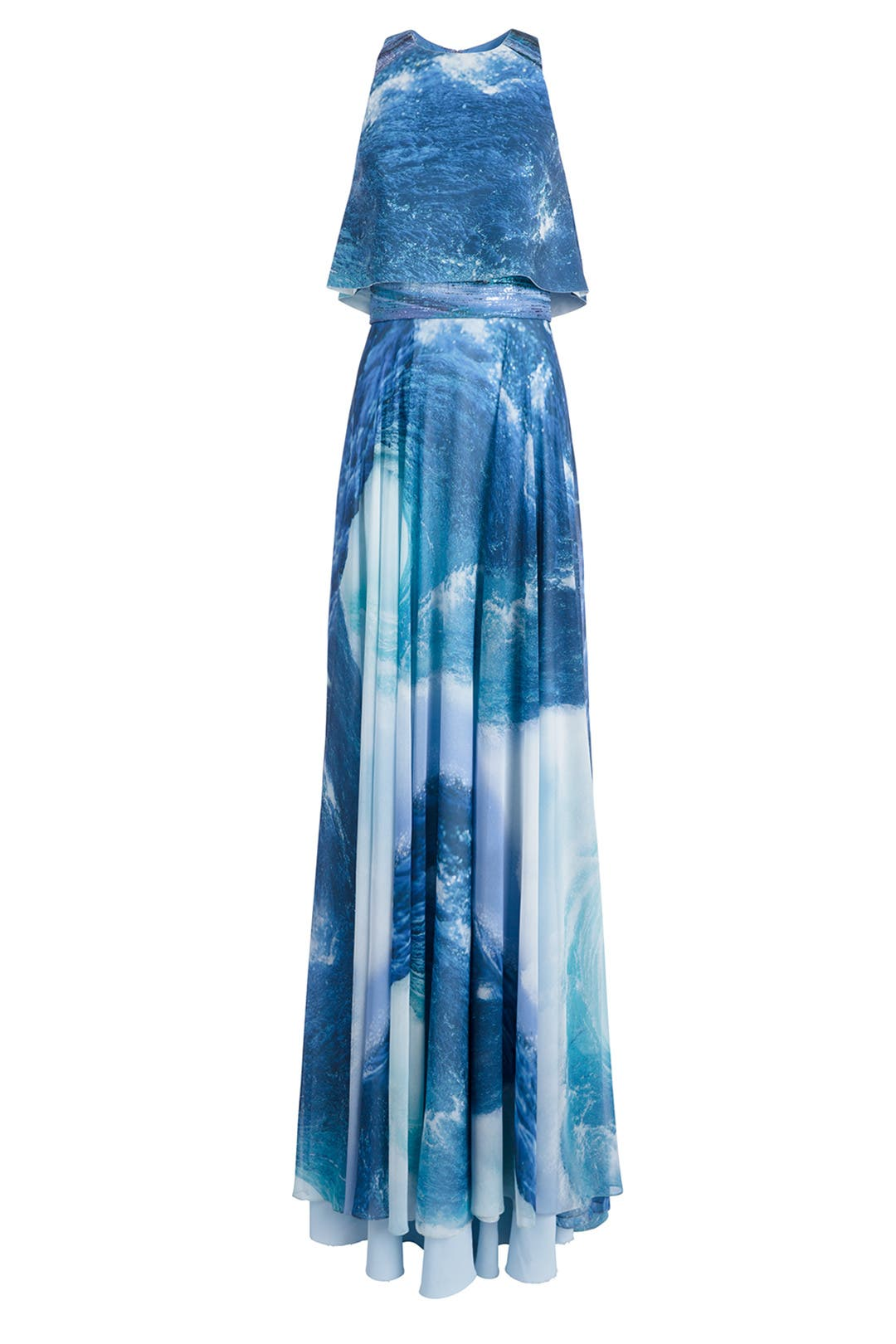 Ocean Maxi by Theia for $175 | Rent the Runway
