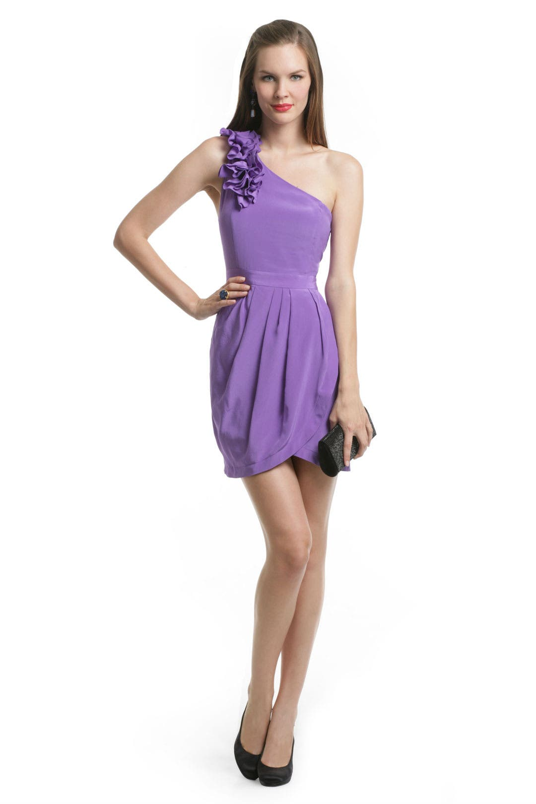 Purple Rizzie Dress by Yumi Kim