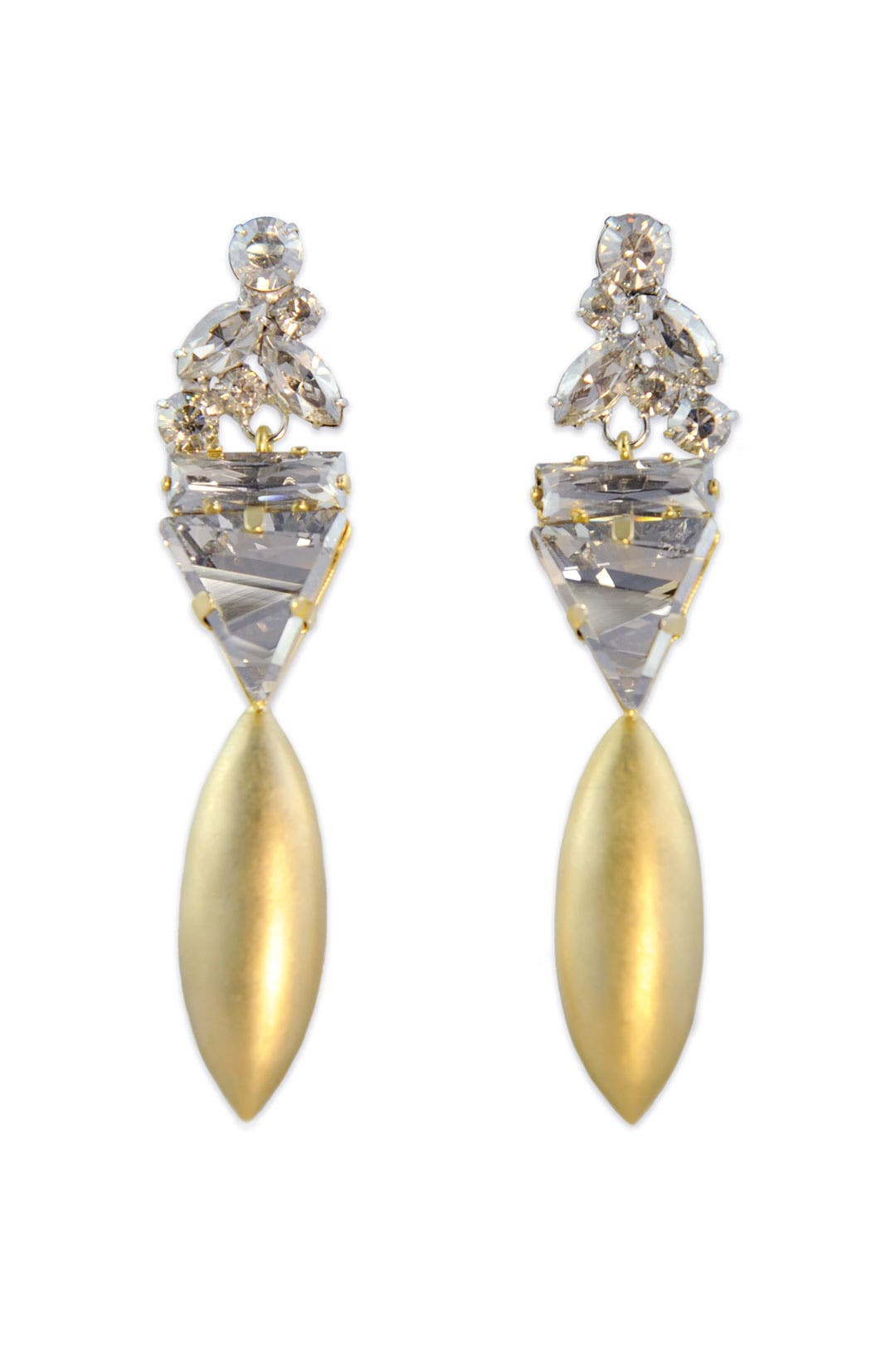 Drop of Gold Earrings by Janis Savitt