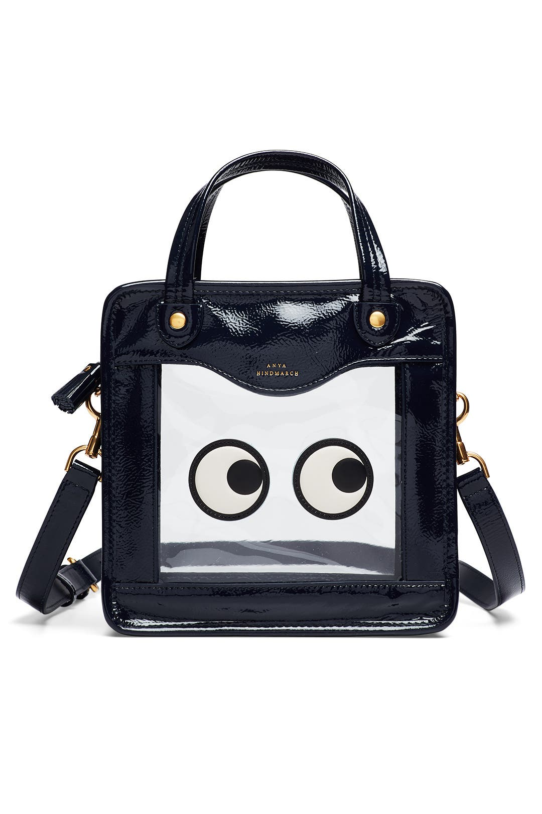 rainy day eyes bag - Blue Anya Hindmarch Best Seller Online 2018 Unisex In China Cheap Price Discount 2018 New Marketable wRFpqMBp8